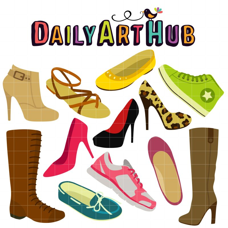 Girl Shoe Collection-