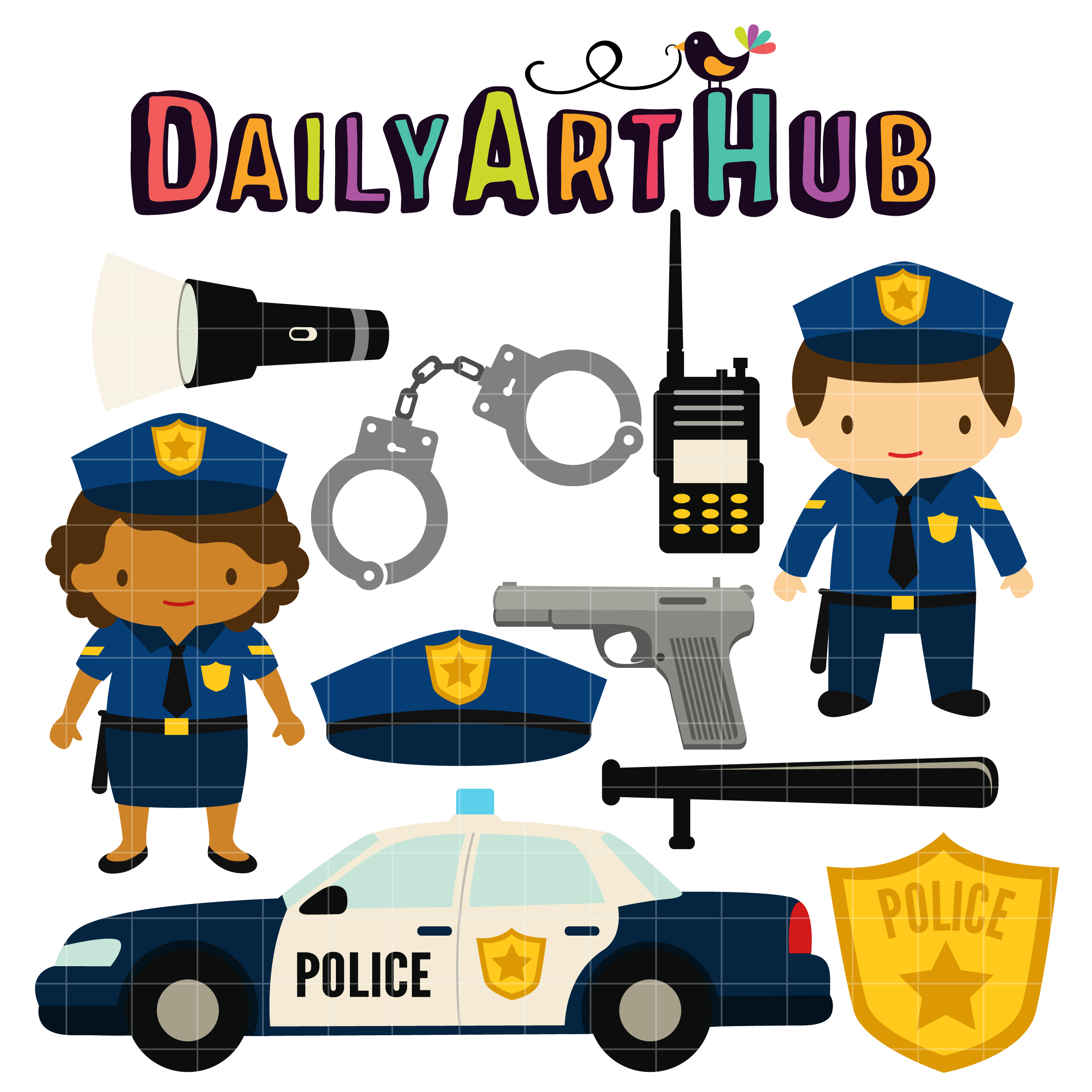 View Police Clipart