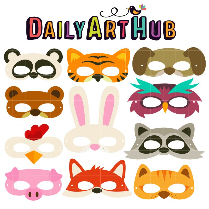 Animal Party Masks I