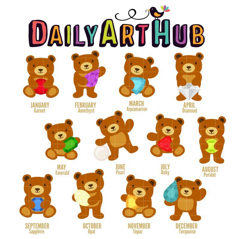 Birthstone Bears