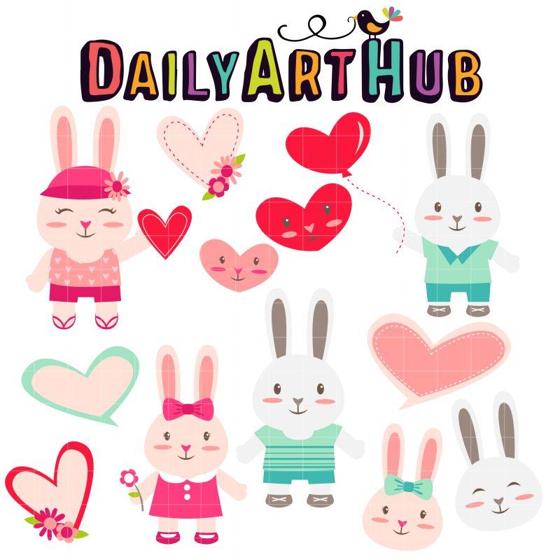 DAH Bunny In Love