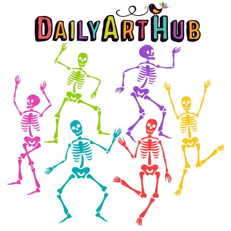 Dancing Skeletons-