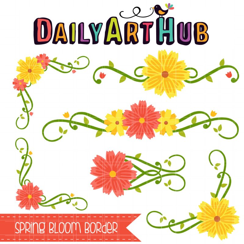Spring Bloom Border–01