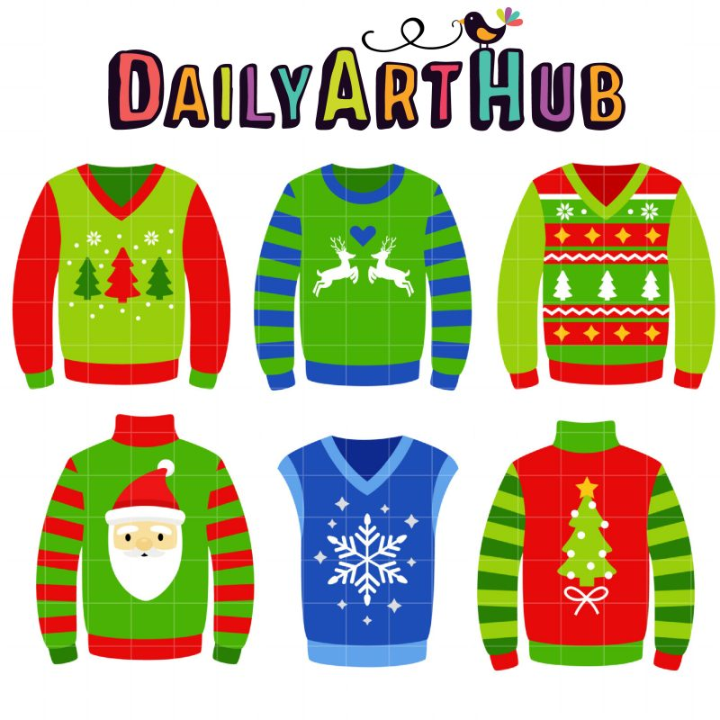 Ugly Christmas Sweaters-
