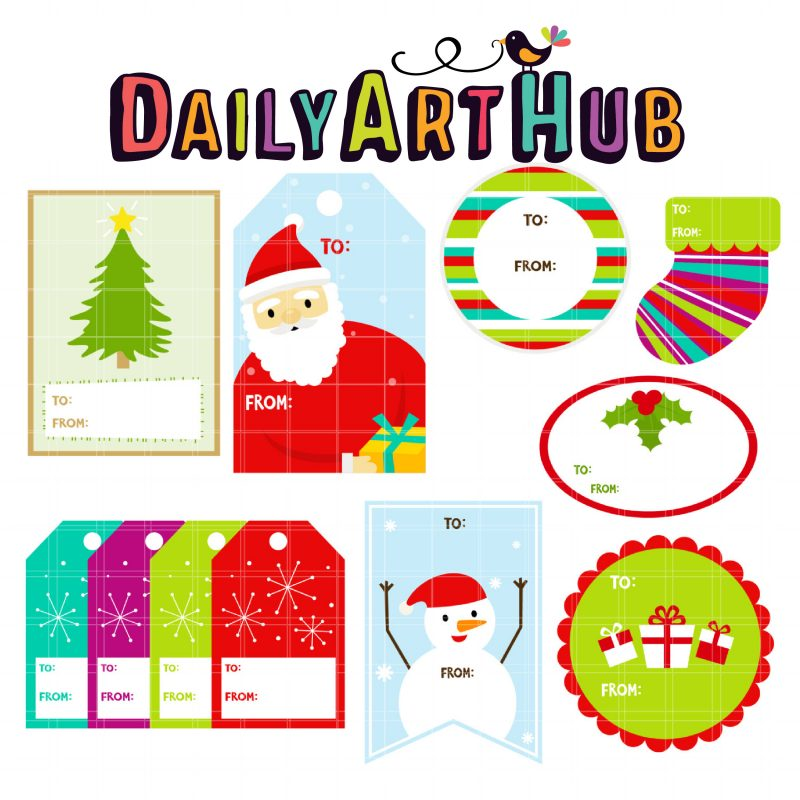 Holiday Gift Tags-