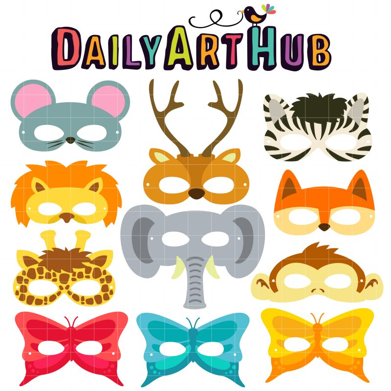 Animal Party Masks II