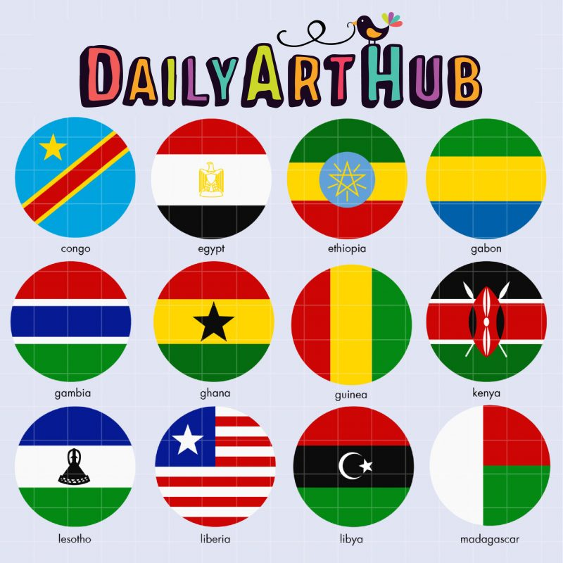 African Flags 2-