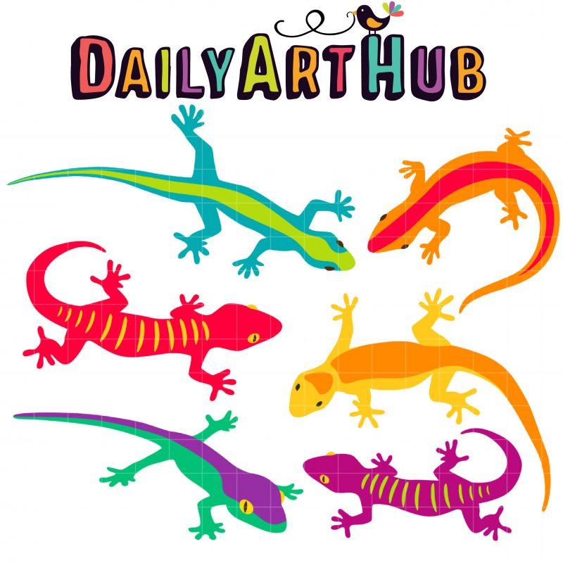DAH_Colorful Geckos