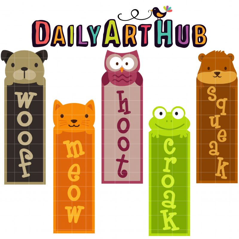 DAH_Cute ANimal Bookmarks