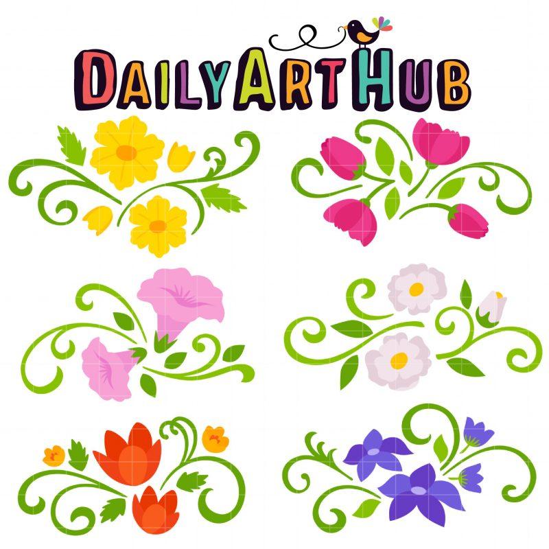 DAH_Floral Spray Bouquet