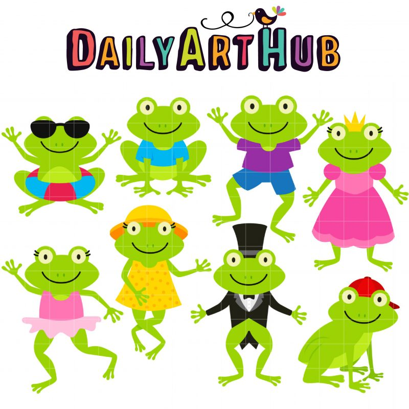 DAH_Fun Frogs