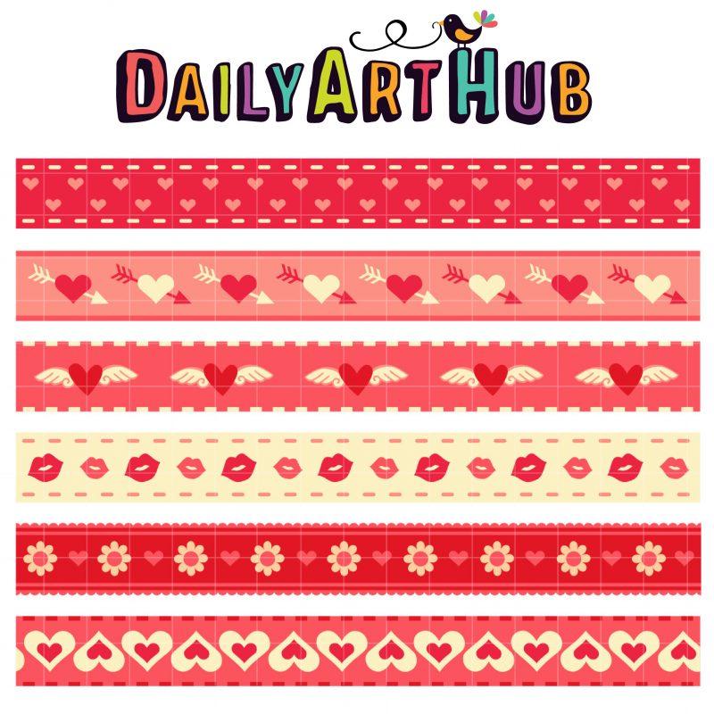 DAH_Hearts Day Borders