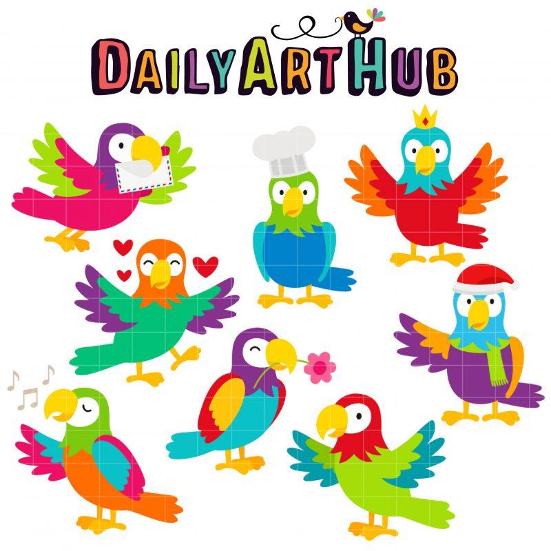 DAH_Pet Parrot