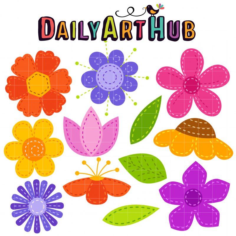 DAH_Stitched Flowers