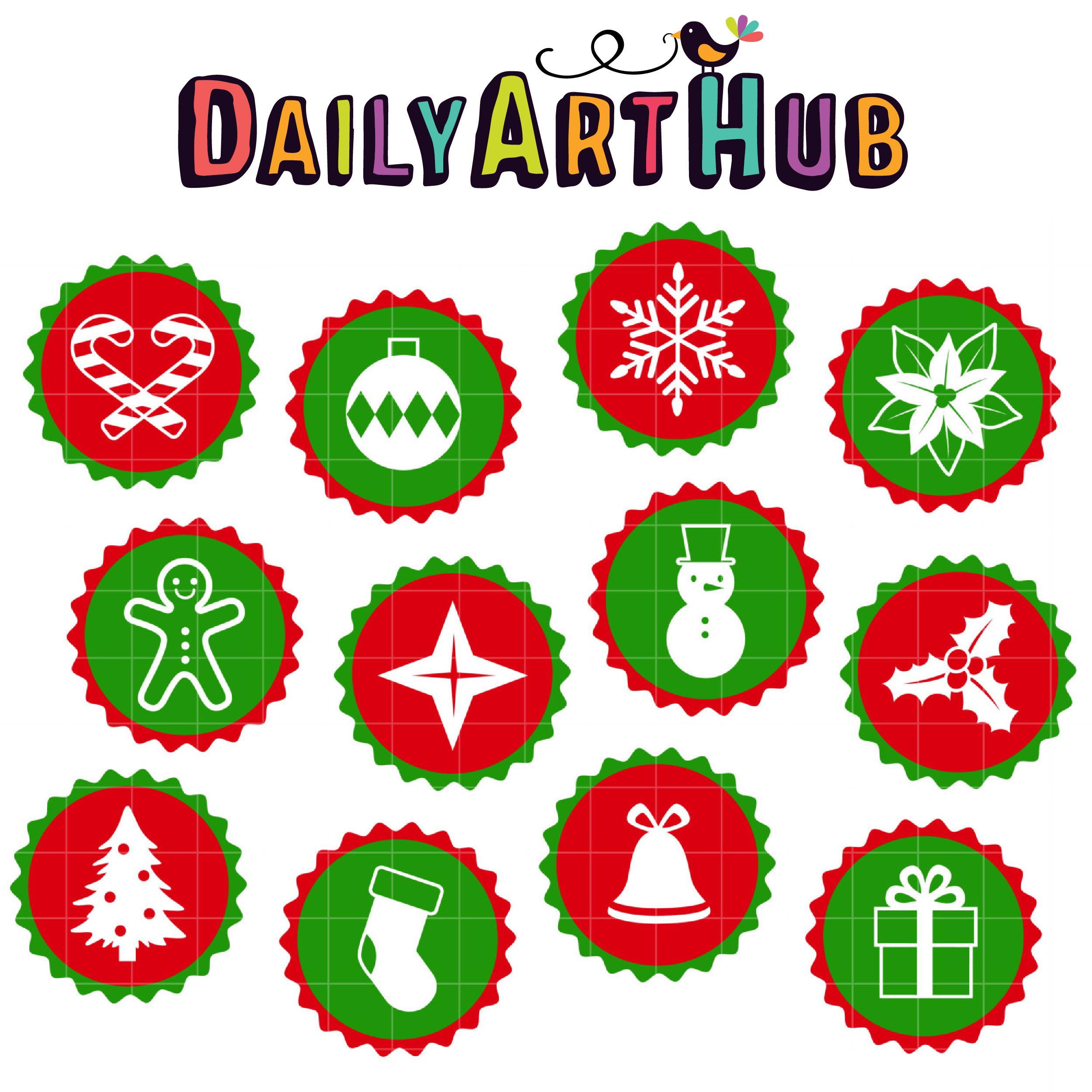 christmas buttons - Christmas Buttons