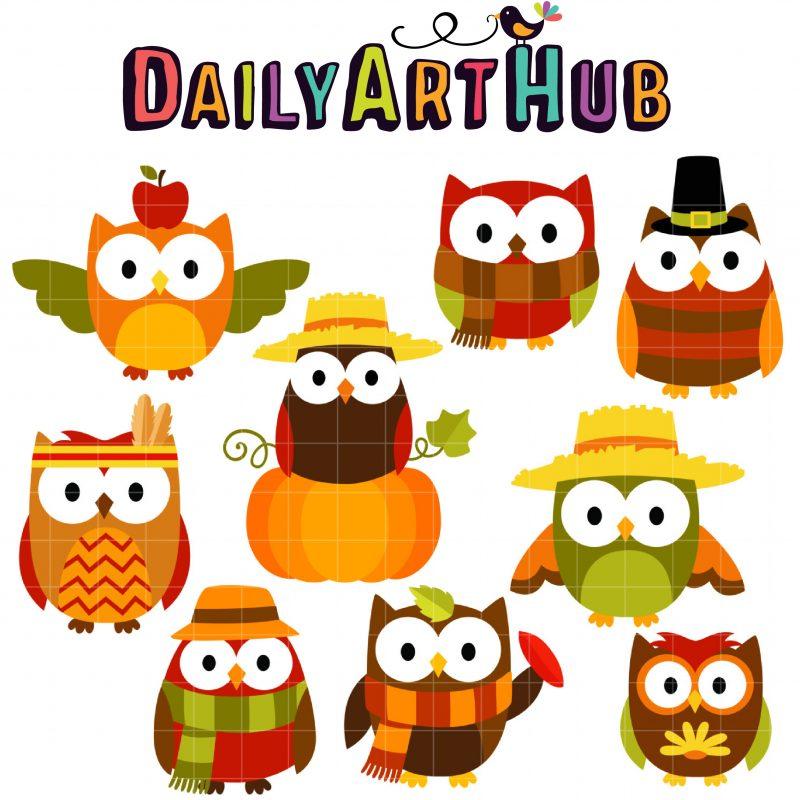 DAH_Autumn Owls