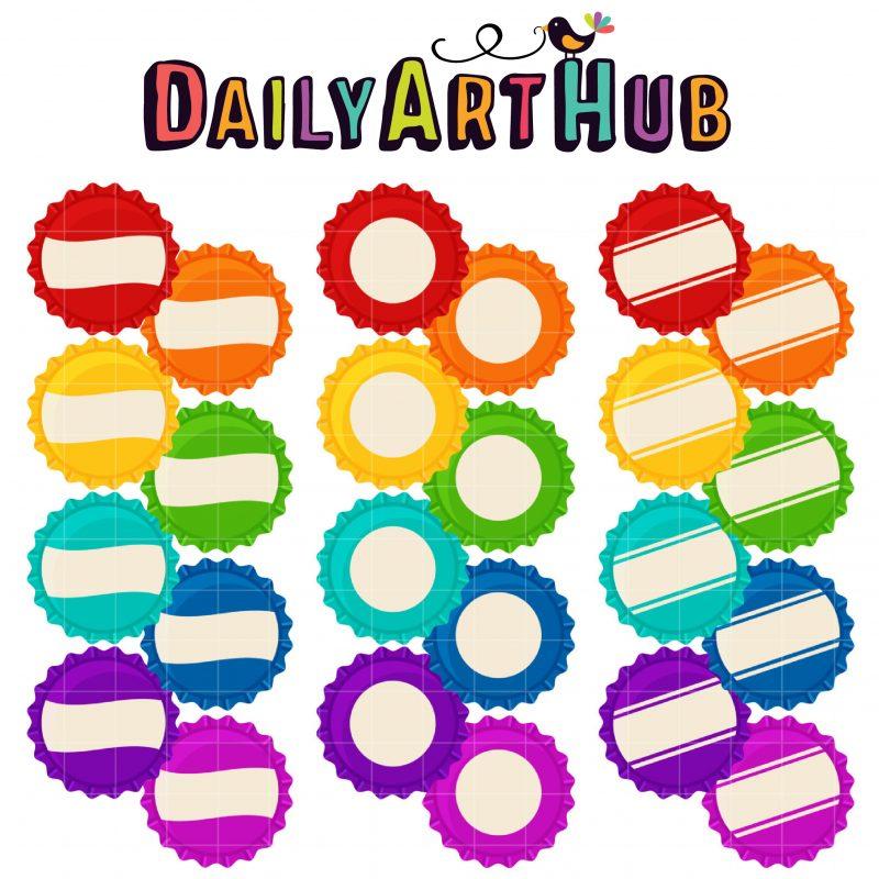 DAH_Colorful Bottlecaps
