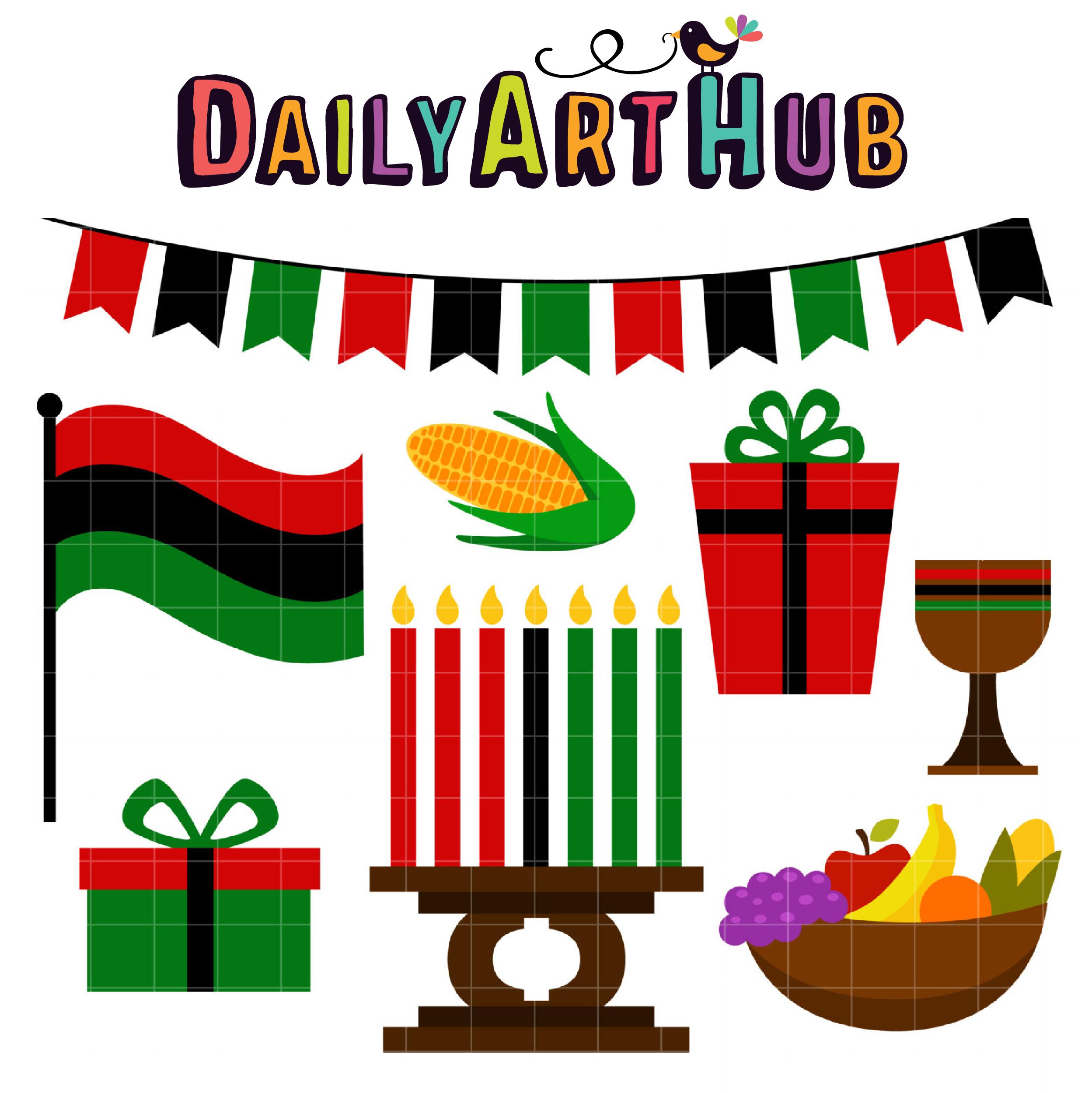 Happy Kwanzaa Clip Art Set – Daily Art Hub – Free Clip Art ...